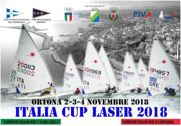 LASER: Italia Cup a Ortona