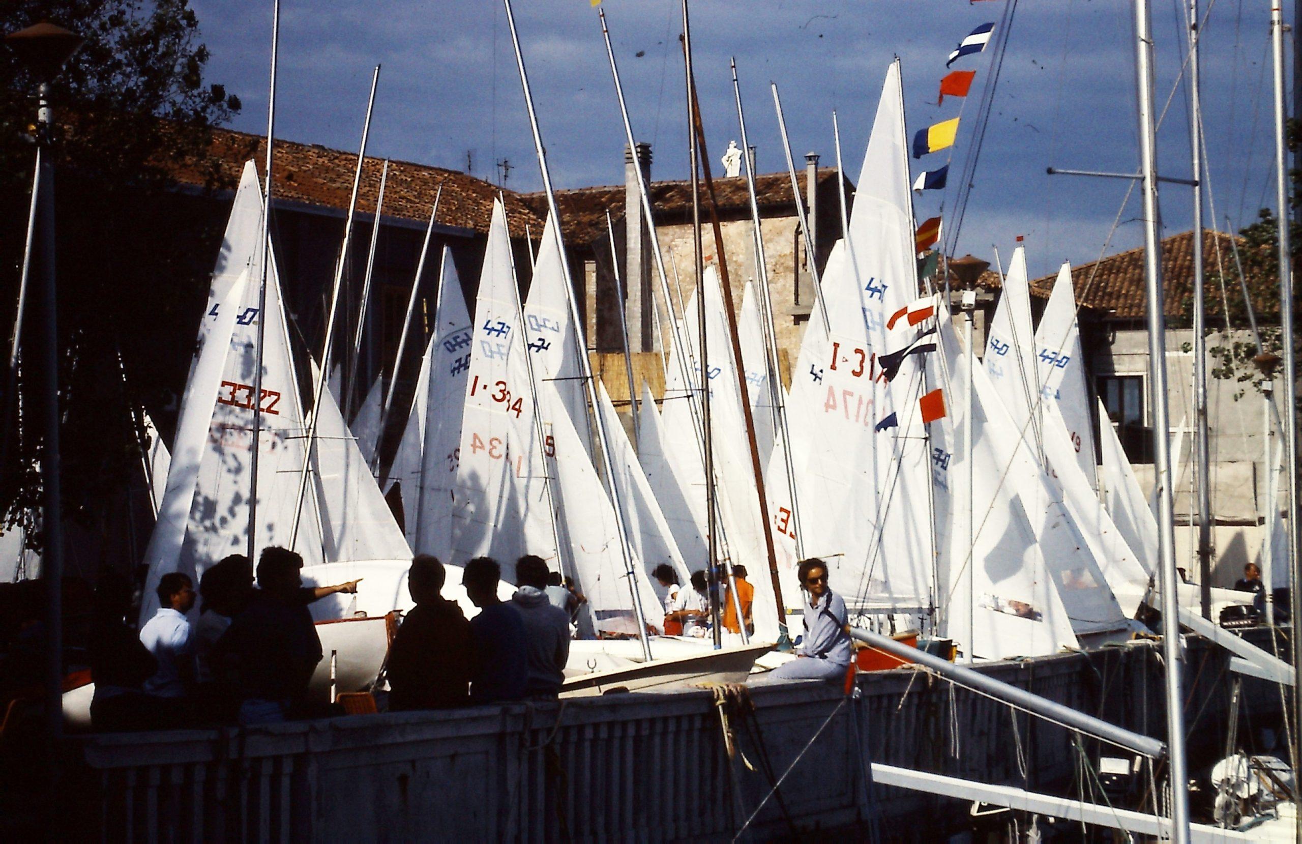 Foto regata nazionale 470 del 1983