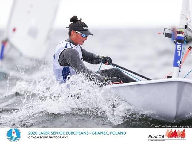 Silvia Zennaro 8^ in Europa