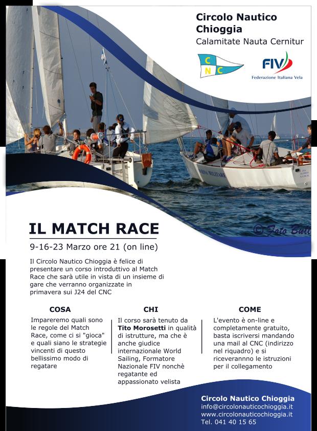 Avanti con il Match Race!!!!!!!!!!
