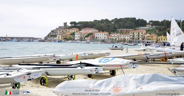 Laser a Marina di Campo per Italia Cup